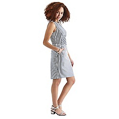 Oasis - Olive stripe dress