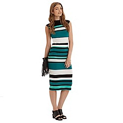 Oasis - Photographic Stripe Tube Dress