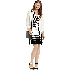 Oasis - Chevron stripe dress