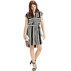 Oasis - Moroccain stripe shirt dress