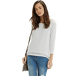 Oasis - Embellished shoulder top