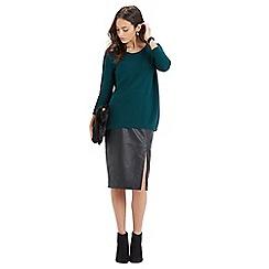 Oasis - Embellished shoulder jumper