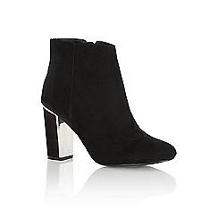 Oasis - Lauren metal heel ankle boot