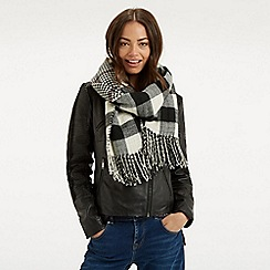 Oasis - Reversible check scarf