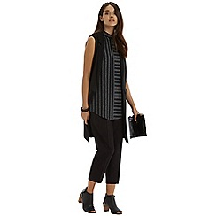 Oasis - Sparkle Stripe Tabard Top