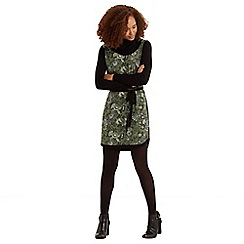 Oasis - Cowl Neck Printed Dress
