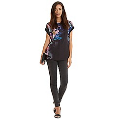Oasis - Photo floral boyfriend t-shirt