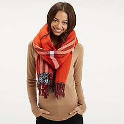 Oasis - Hendrix Check Reversible Scarf
