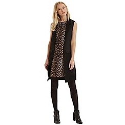 Oasis - Animal roll neck shift dress