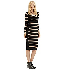 Oasis - Stripe colourblock dress