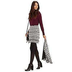 Oasis - Tweed tuffty skirt