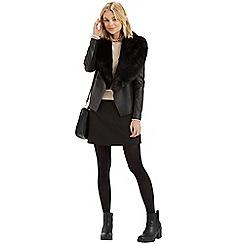 Oasis - 60s Button A-Line Skirt