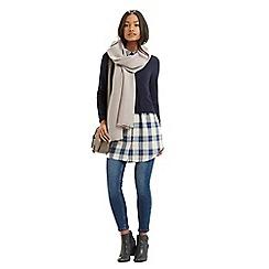 Oasis - Crinkle plain scarf