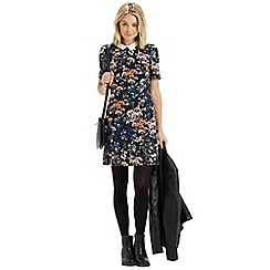 Oasis - Floral Collar Shift Dress