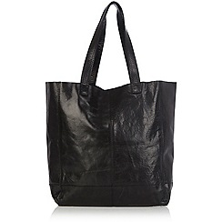 Oasis - Unlined Leather Shopper