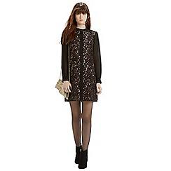 Oasis - Lace Chiffon Sleeve Dress