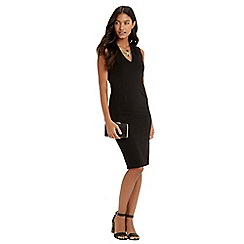 Oasis - V Neck Crepe Dress
