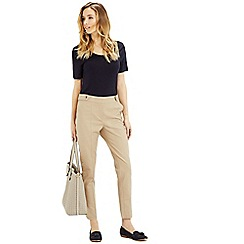 Oasis - Compact Cotton Trouser
