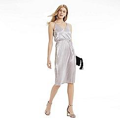 Oasis - Plisse Midi Dress