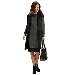 Oasis - Tweed patched tube dress