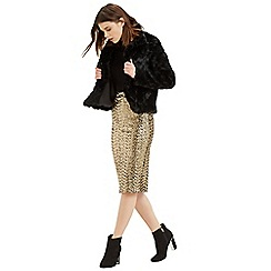 Oasis - Sequin Pencil Skirt