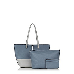 Oasis - Patched Reversible Shopper