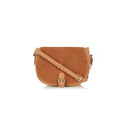 Oasis - Sydney Suede Saddle Bag