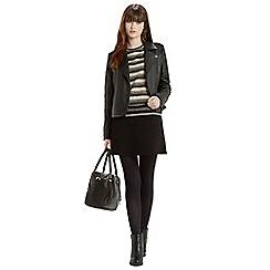 Oasis - Fringed stripe sweater