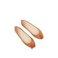 Oasis - Suzie Stitch Detail Ballerina
