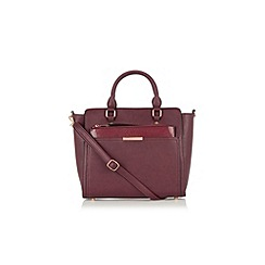 Oasis - Scarlet work bag with clutch