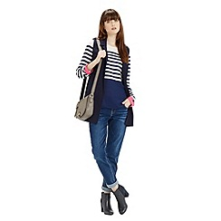 Oasis - Stripe Colour Block Top
