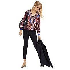Oasis - Scarf Print Blouse