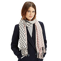 Oasis - Patched Chevron Scarf
