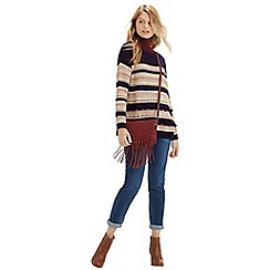 Oasis - Fair Isle Stripe Jumper