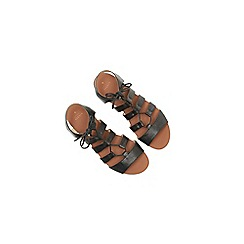 Oasis - Gracie lace up ghillie sandal