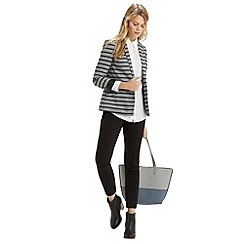 Oasis - Stripe Ponte Jacket