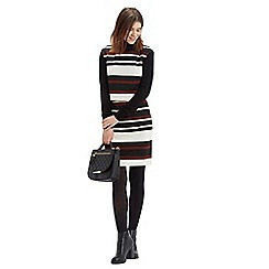 Oasis - Stripe 2 in 1 dress