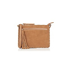 Oasis - Suede Whipstitch Cross-Body Bag
