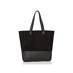 Oasis - Suede & PU Shopper