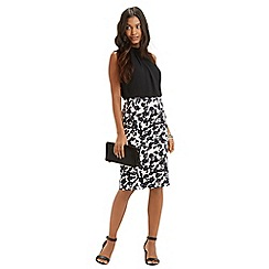 Oasis - Shadow Print 2 in 1 Dress