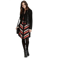 Oasis - Diagonal Stripe Shirt Dress
