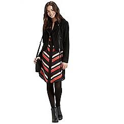 Oasis - Diagonal Stripe Shirt Dress
