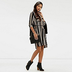 Oasis - Stripe Shirtdress