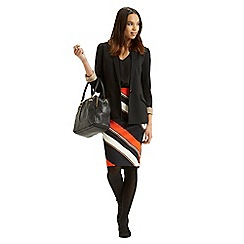 Oasis - Stripe 2 In 1 Pencil Dress