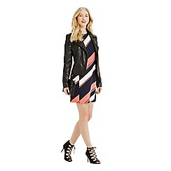 Oasis - Diagonal Stripe Dress