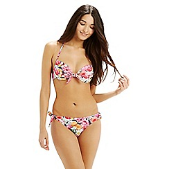Oasis - Digital Floral Bow Front Cup