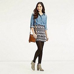Oasis - Dakota Jacquard Skirt