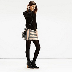 Oasis - Scallop Stripe Skirt