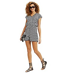 Oasis - Stripe playsuit