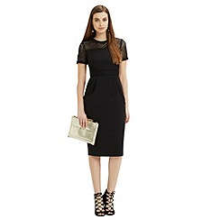 Oasis - Lace trim pencil dress